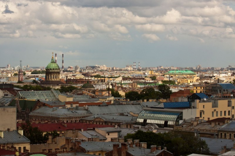 Kind of Petersburg from the Issakievsky cathedral